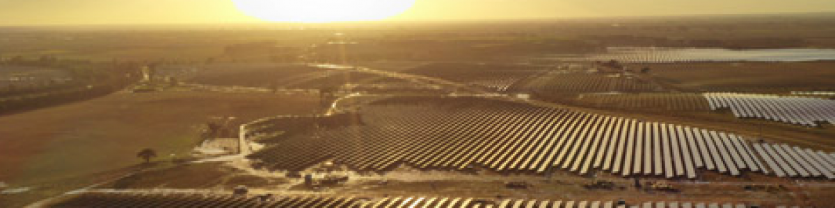 Puesta en marcha de la Planta Fotovoltaica Don Rodrigo (Sevilla)